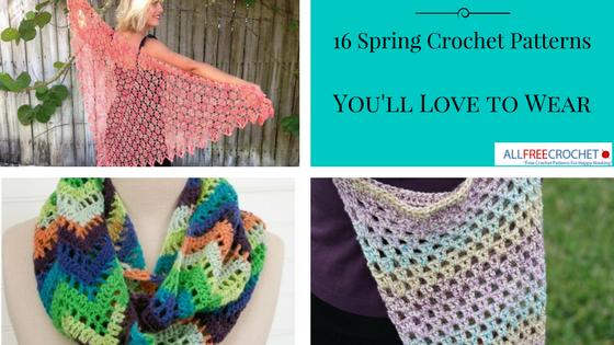 16 modèles de crochet de printemps que vous aimerez porter