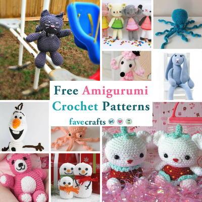 31 modèles de crochet Amigurumi gratuits