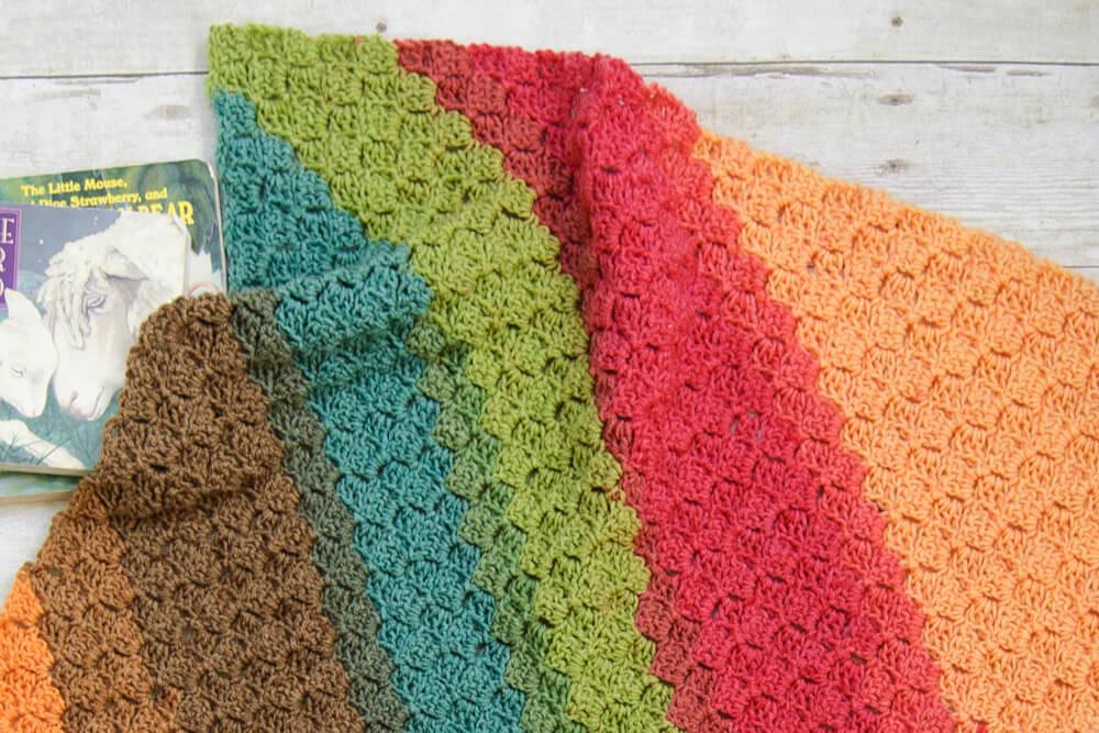 C2C Crochet Baby Blanket