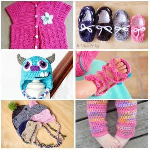 Crochet pour bébé toute la saison: modèles de crochet pour bébé