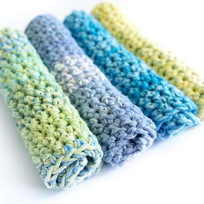 Torchons épais en crochet