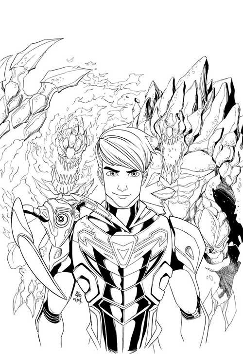 dessins-de-max-steel-3