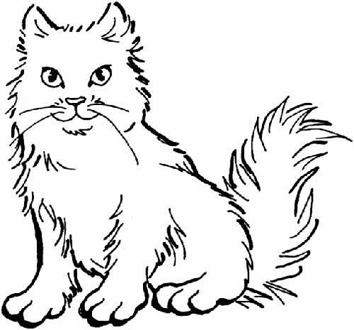 Coloriage-chats-pour-colorier