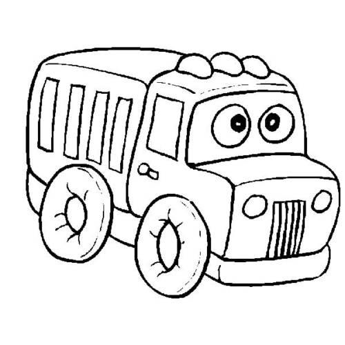 dessins de camions