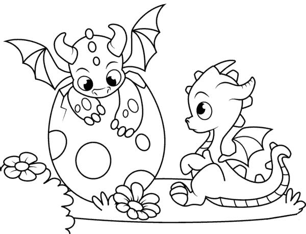 dragon se levant pour peindre
