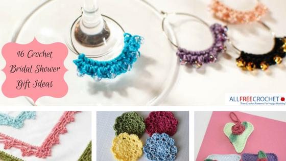 16 idées de cadeaux de douche nuptiale au crochet