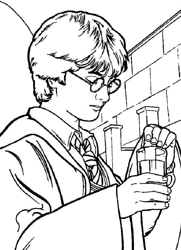 dessins de Harry Potter