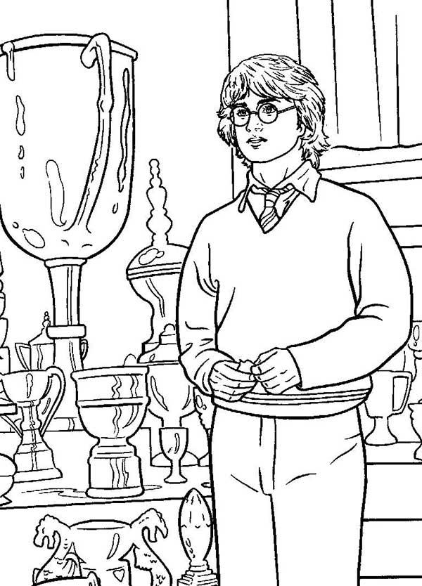 Harry Potter à peindre