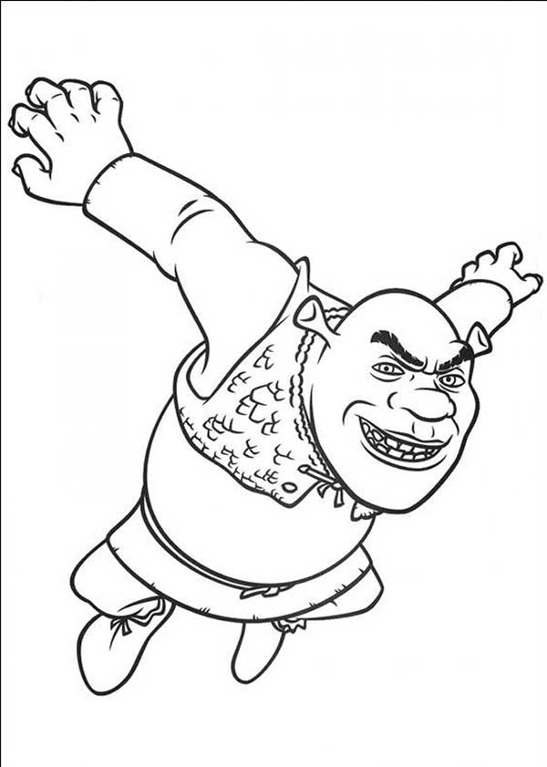 dessins de Shrek