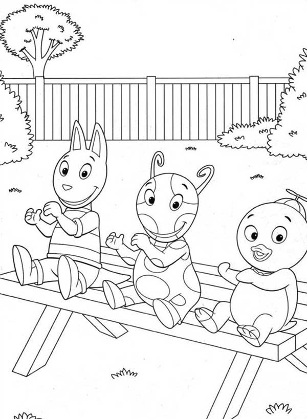 Dessins de Backyardigans