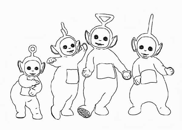 quatre personnages
