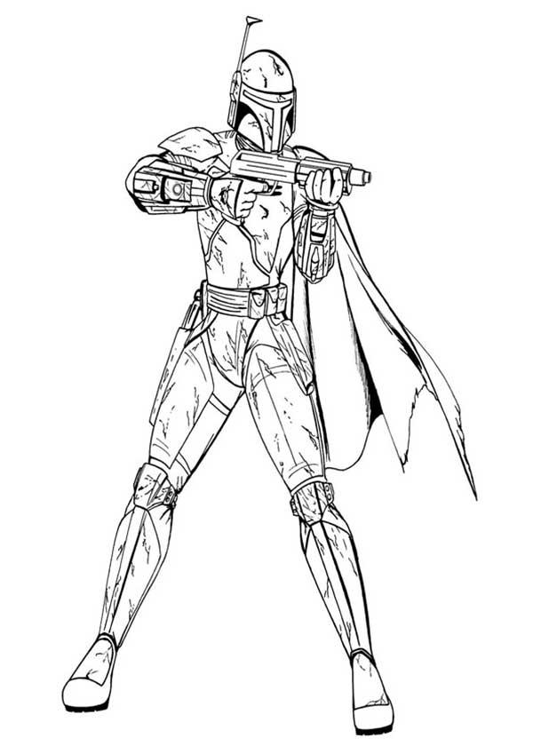 soldat avec arme à feu