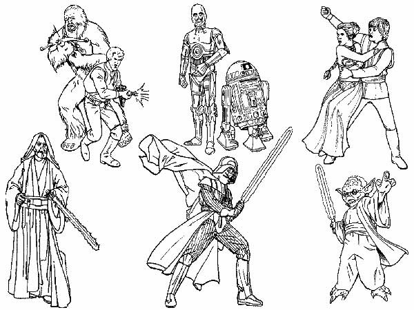 dessins de star wars