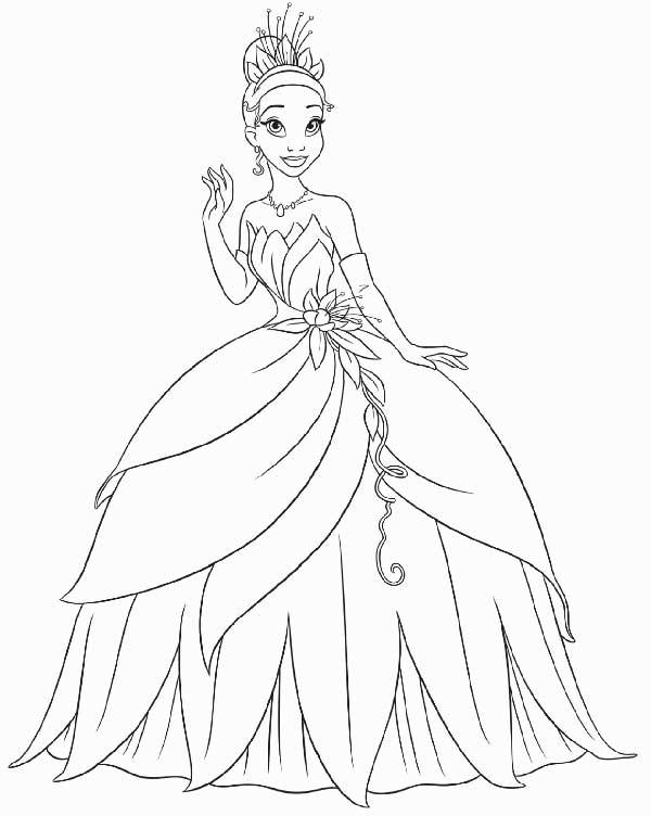 habillée en princesse