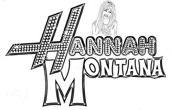 dessins de hannah montana