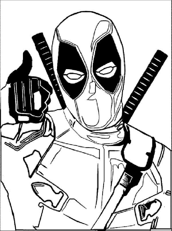 idées de dessin Deadpool