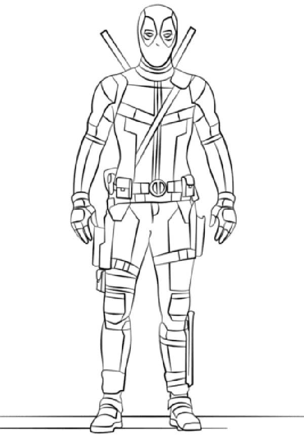 dessins de Deadpool