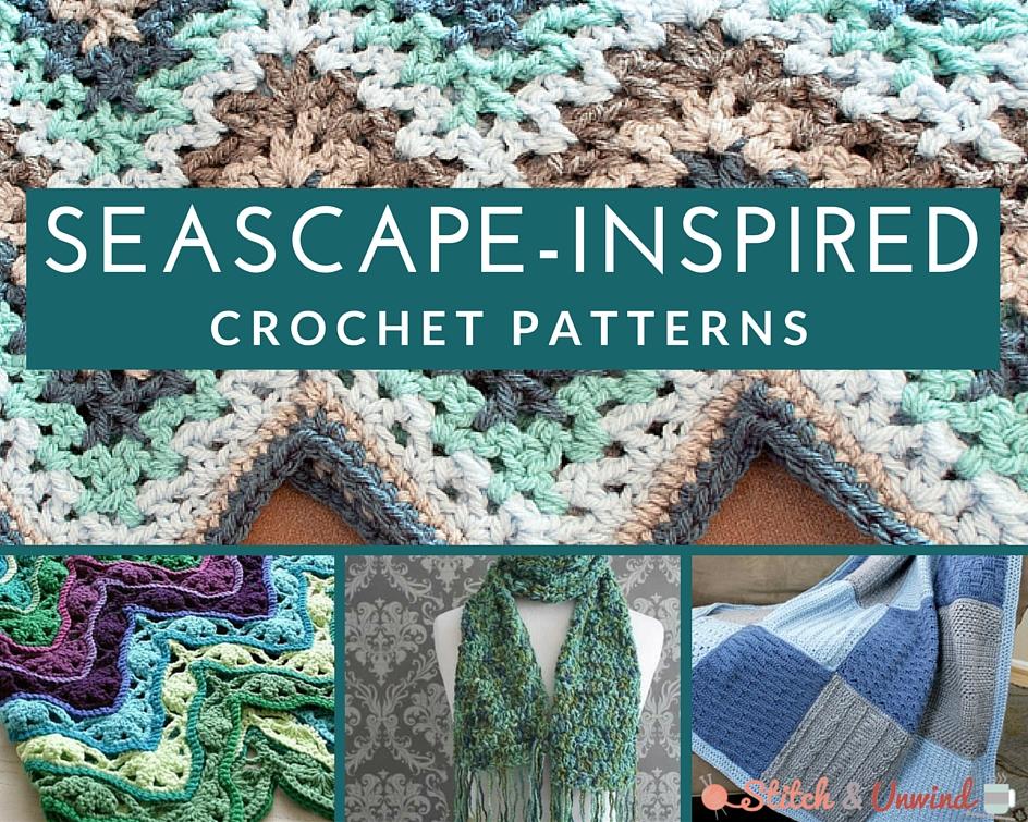 Modèles de crochet inspirés des paysages marins