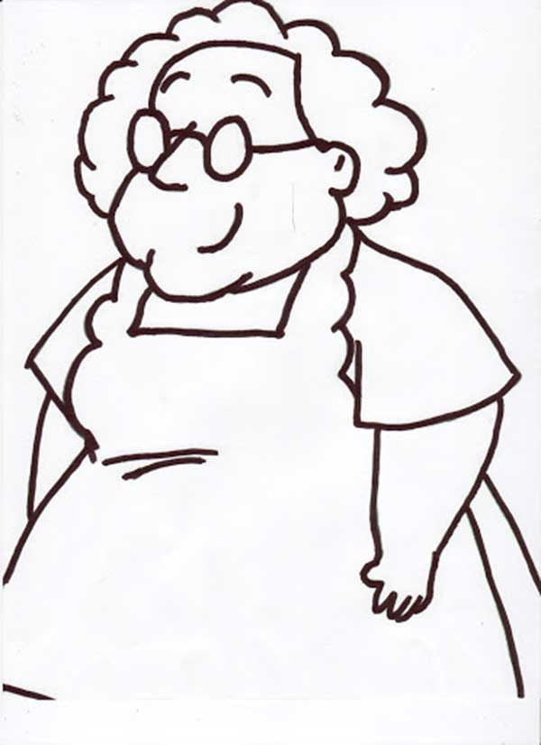 la grand-mère qui a adopté le courage