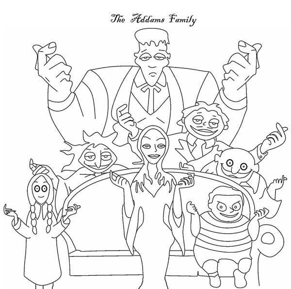 Famille Adams
