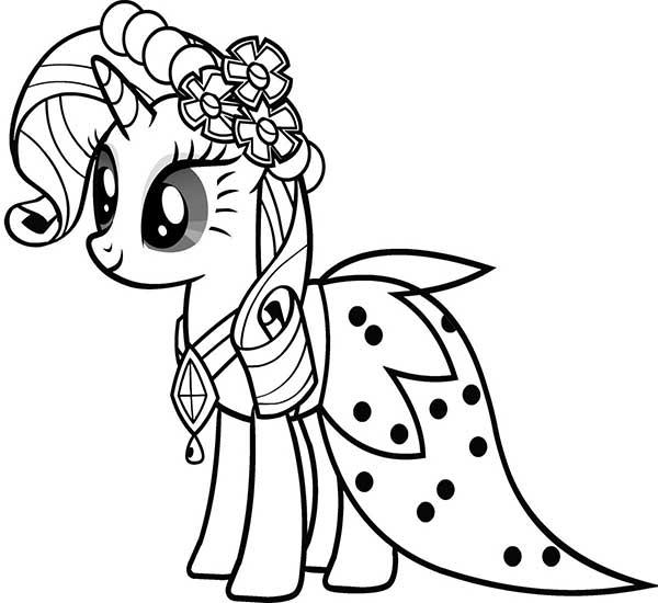 Mon petit poney dessins à peindre
