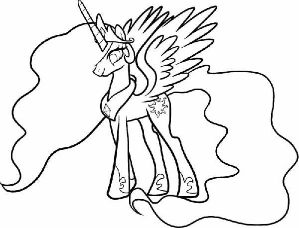 dessins de licorne