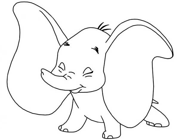 Dumbo à peindre