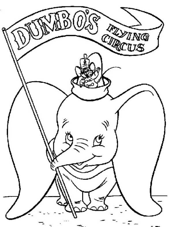Conseils de dessin Dumbo