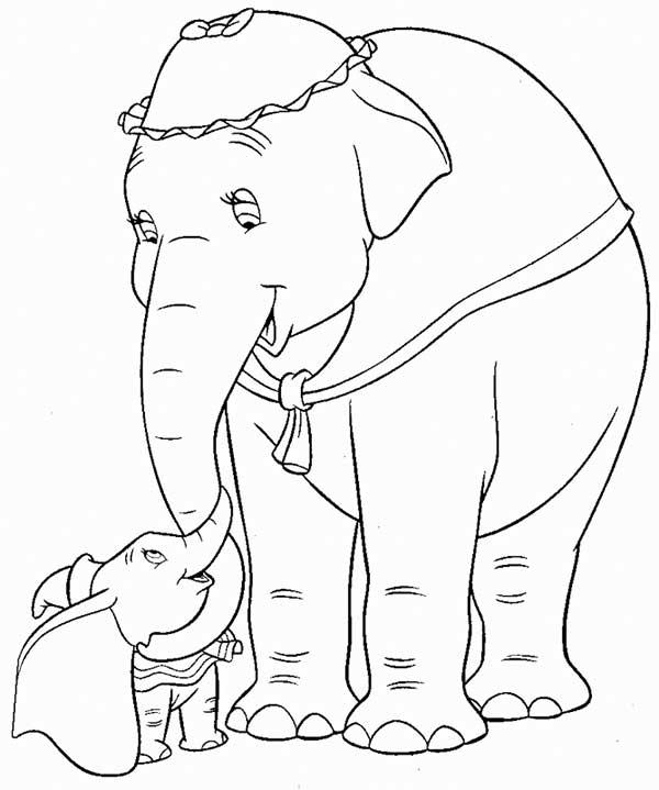 Dessins Dumbo à peindre