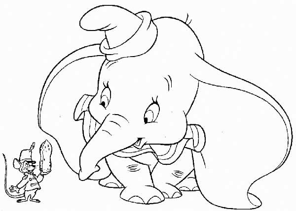 Images de dessins de Dumbo
