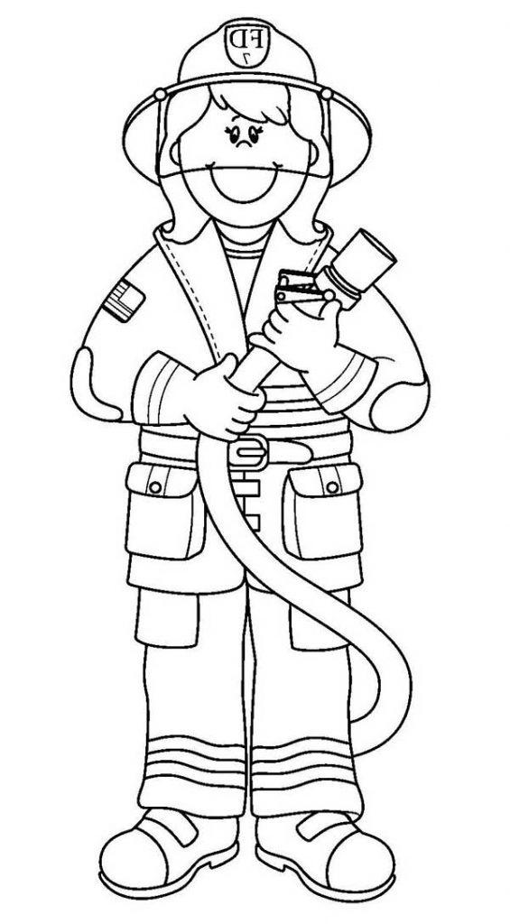 pompier imprimable