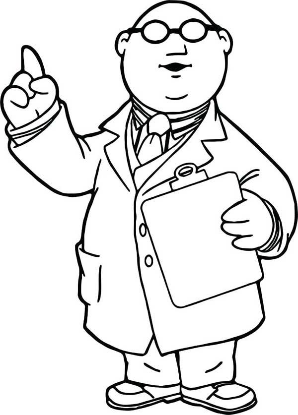 dessins de médecins