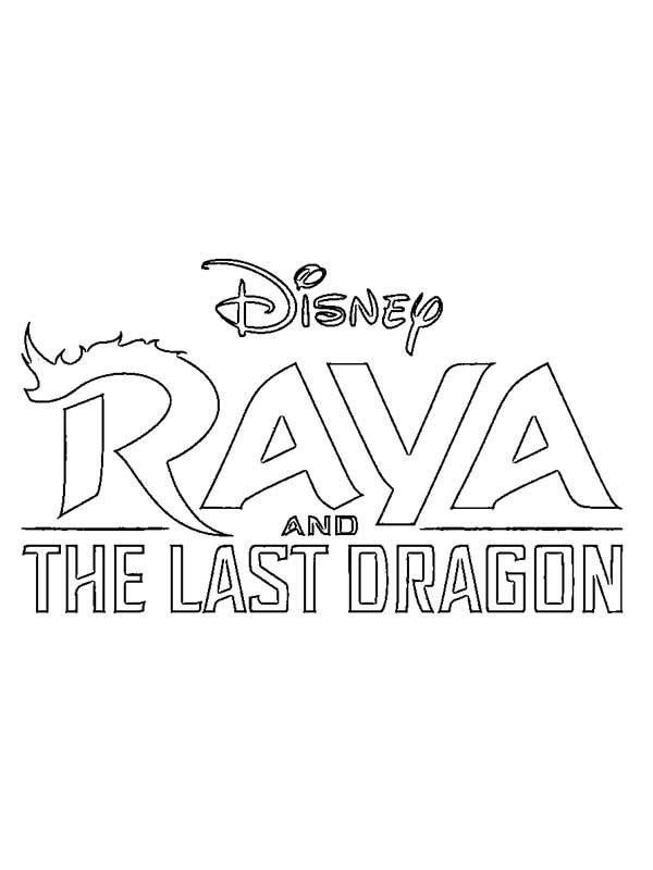 Dessins de Raya et du dernier dragon
