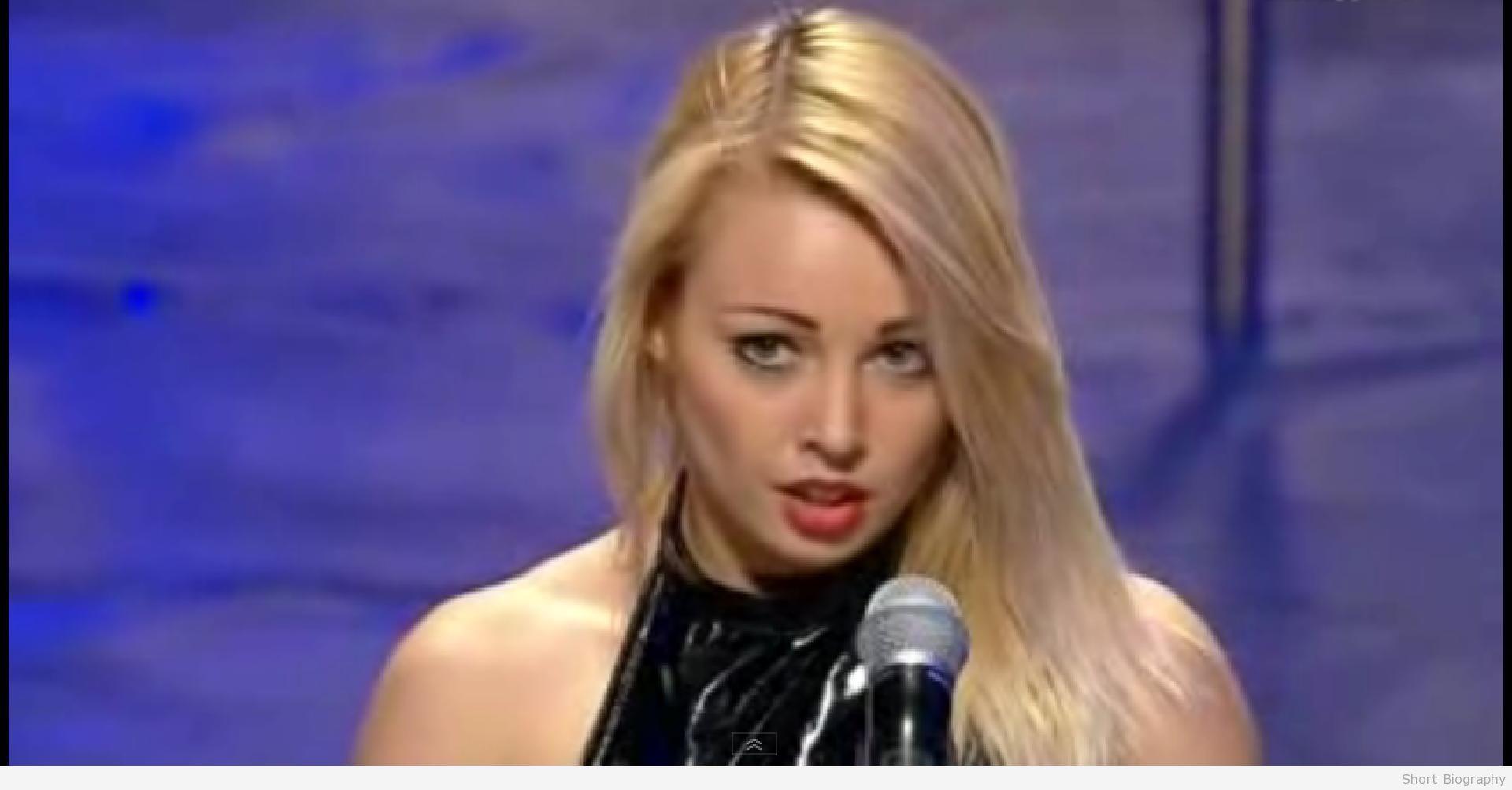 Anastasia Sokolova sur Ukraines a du talent.
