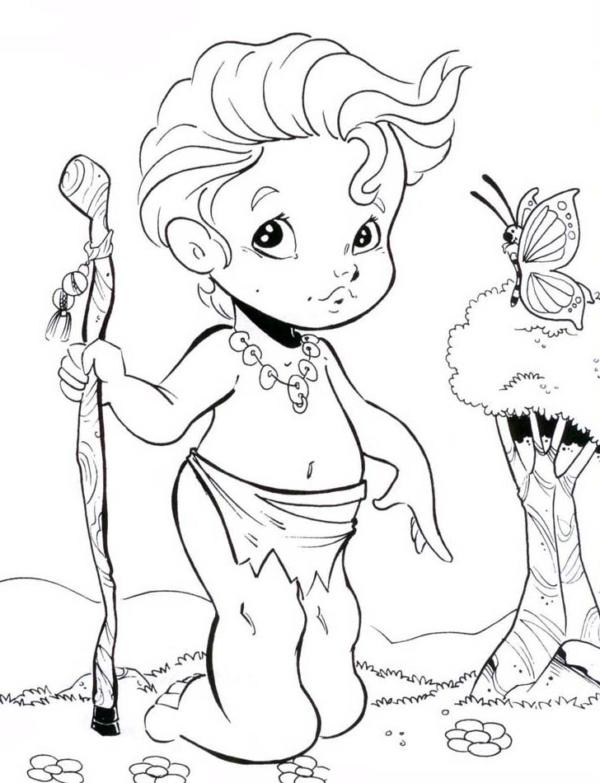 personnage folklorique Curupira