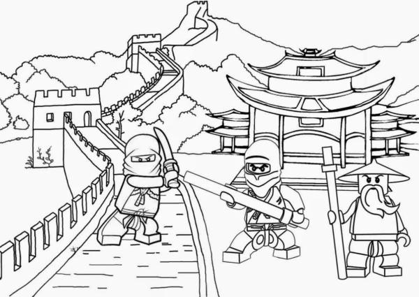 Coloriage Ninjago gratuit