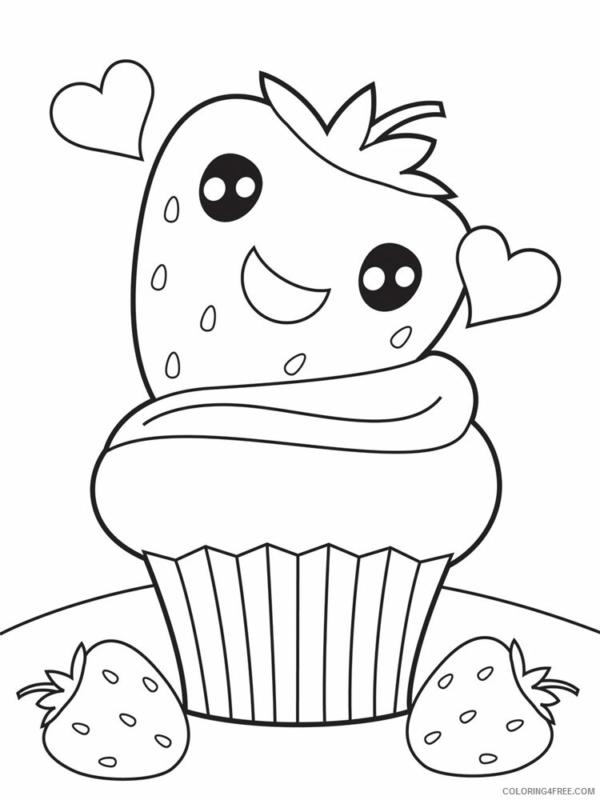 cupcake moelleux aux fraises